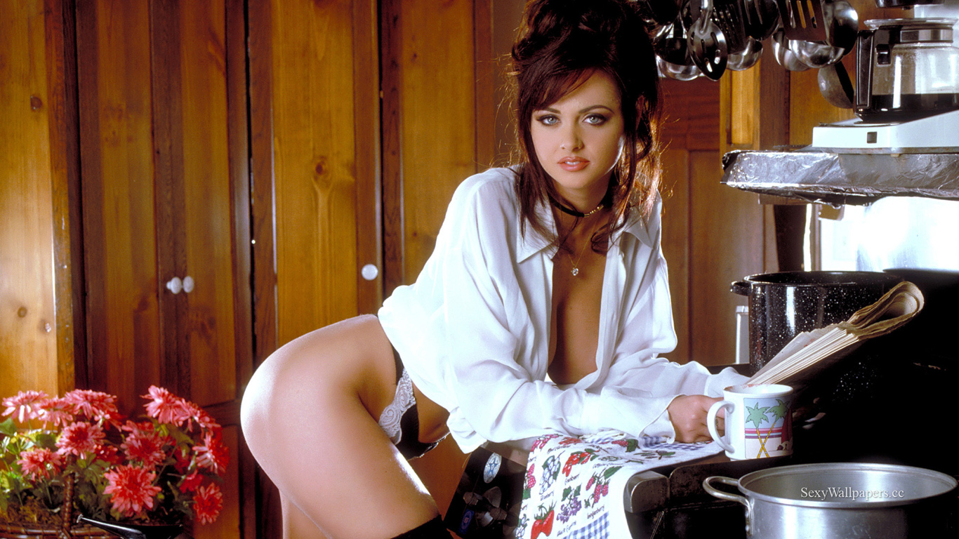 Stacy Moran sexy wallpaper 1366x768